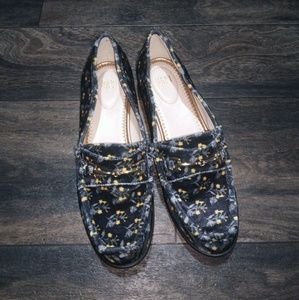CAbi floral loafers
